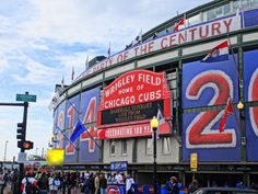 Useful Tips and Things to do at Wrigley Field: A First Timer's Guide Heading to a Chicago Cubs game for the first time? Use our guide for exclusive tips and an inside look at the things to do at Wrigley Field. Chicago Travel, Chicago Vacation, Chicago Chicago, Chicago Things To Do, Cubs Games, Chicago Cubs Baseball, Baseball Mom, Wrigley Field, Buster Posey