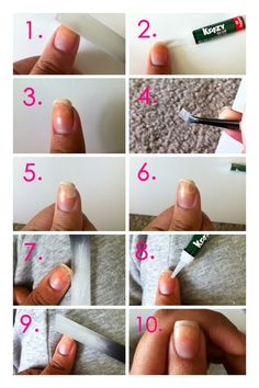How To Fix Your Broken Nail