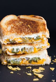 This month I'm participating in theCrazy Cooking Challenge hosted byMoms Crazy Cookingand the theme is grilled cheese sandwiches. I found a recipe for Jalapeno Popper Grilled Cheese Sandwichon Closet Cooking that looked like something we would like. It turned out beautifully and John even asked for them again the next day!