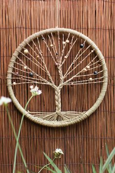 Come to this creative class to create a beautiful Tree of Life Dreamcatcher to c. - Come to this creative class to create a beautiful Tree of Life Dreamcatcher to catch all your dream - Easy Crafts To Make, Fun Crafts, Diy And Crafts, Twine Crafts, Make To Sell, Sell Diy, Craft Ideas To Sell Handmade, Decor Crafts, Holiday Crafts