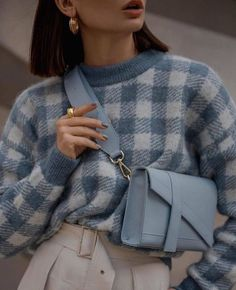 Always blue 💙 Look Fashion, Korean Fashion, Autumn Fashion, Womens Fashion, Fashion Tips, Fashion Trends, Classy Fashion, Party Fashion, Fashion Ideas