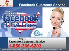 "Is Facebook Customer Service really error-free? Dial 1-850-366-6203 ""Yes, our Facebook Customer Service is really error-free because it is offered by our experts. So, dial 1-850-366-6203 to get the following services:- • Are you having problems while chatting on Facebook? • Online support is offered by the experts. • Profile photo issues can be tackled in no time. For further information take a look at http://www.monktech.net/facebook-customer-care-service-hacked-account.html """