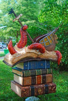 Sea Monsters in Literature Grooms Cake | Flickr – Condivisione di foto! Sweet Fix