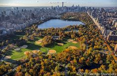 Photograph by George Steinmetz @geosteinmetz / @thephotosociety The arboreal splendor of Olmsted and Vauxs masterpiece is at its finest in the fall. #CentralParkNYC To see more of New York City from the Air visit @newyorkairbook by natgeo