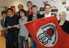 Young socialists from germany, the Jusos Rhein-Hunsrück.