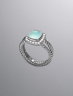 Petite Albion Ring, Prasiolite | Women Rings | David Yurman Official Store