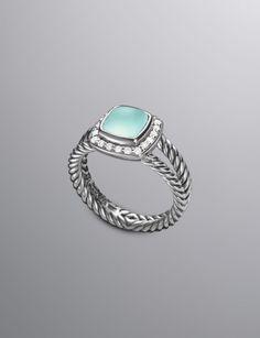 Petite Albion Ring, Prasiolite | Women Rings | David Yurman Official Store