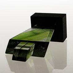 GÖRAN WÄRFF, SKULPTUR, glas på stensockel, signerad, Memories-serien. Kosta Boda. - Bukowskis Glass Art, Sculptures, Boden, Jar Art