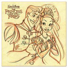 Tiana and Naveen - The Princess and the Frog - 07 by ~davidkawena
