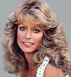 Farrah Fawcett - oh that beautiful hair that all the girls (and some guys!) tried to copy.