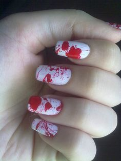 Dexter Nail Art  - #nails #nail_art #nails_design #nail_ ideas #nail_polish #ideas #beauty