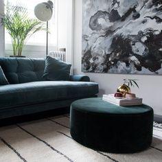 Blanca sofa is crafted using luxurious Italian velvet, made from 100% cotton. Scandinavian design. MeliMeli Cube Chair, Velvet Furniture, Velvet Sofa, Seat Pads, Living Room Inspiration, Living Room Sofa, Scandinavian Design, Your Space, Home And Living