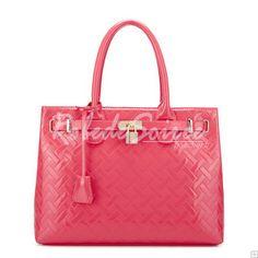 Sac à Main Femme-Apple Red Candy-couleur à double usage forfait