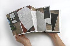 Accordion book Portfolio 2004 on Behance