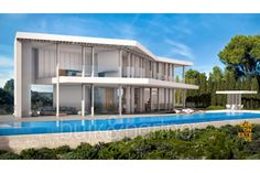Modern luxury villa in first line for sale in Jávea - ID 5500620 - Real estate is our passion... www.bulk-partner.com