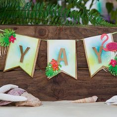 """""""Mi piace"""": 140, commenti: 2 - Spellbinders (@teamspellbinders) su Instagram: """"Create this easy DIY party banner for your next summer shindig! Link in profile. #banner #summer…"""""""