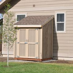 Check out this project on RYOBI Nation - Too much stuff? In this tutorial DIY PETE will walk you through the basic steps involved in building a DIYbackyard shed. This backyard shed project will teach you new skills geared towards building structures. You'll learn how to build a floor, frame walls, add siding, roof, shingle, and finish a simple four walled building. This specific shed is 6 feet wide by 5 feet deep and is perfect for storing yard tools, a push mower, snowblower. Customize ..