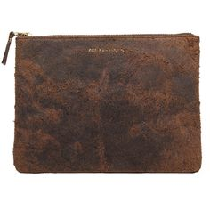 Comme des Garçons Large Distressed Pouch ($173) ❤ liked on Polyvore