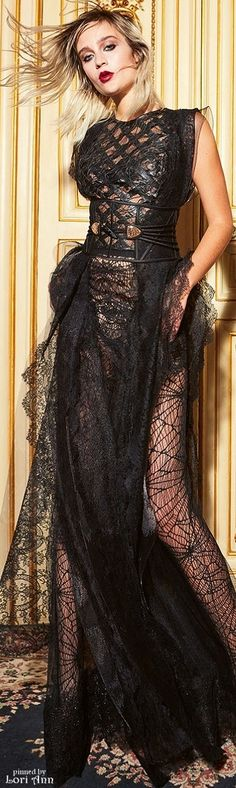 Yolan Cris Evening Gowns Fall 2016