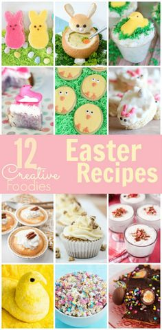 Peeps Inspired Easter Bunny Cakes - Happiness is Homemade