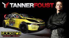 Formula Drift Champion Tanner Foust on a Rockstar