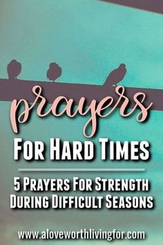 Challenging seasons are inevitable. Difficult circumstances find us all. We are here to help. We have compiled some prayers for hard times that are sure to lift you up and encourage you. Praying these 5 prayers for strength in hard times will help you foc New Quotes, Faith Quotes, Funny Quotes, Jesus Quotes, Life Quotes, Inspirational Quotes, Quotes About Strength In Hard Times, Strength Quotes, Prayers For Strength