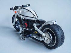 Lego Harley Davidson Motorbike