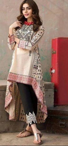 Pakistani Fashion Casual, Pakistani Dresses Casual, Pakistani Dress Design, Casual Summer Dresses, Stylish Dresses, Simple Dresses, Indian Fashion, Fashion Dresses, Summer Outfit