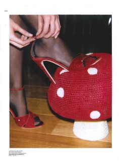 That Mushroom Pouf by Anne-Claire Petit