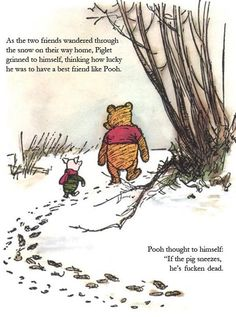 Winnie The Pooh On Swine Flu (PIC)