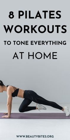 8 Pilates workouts to tone your entire body while lying on the mat + 2 tougher ones - Beauty Bites
