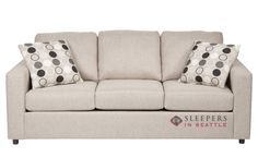 The 703 Queen Sleeper Sofa by Stanton at Sleepers In Seattle. $1109.00