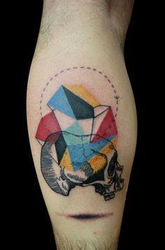 73 Tatuagens geométricas