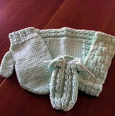 This beautiful hand-knitted spa set makes a fabulous splurge for yourself or a…
