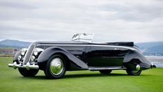 Best of Show: 1936 Lancia Astura Pininfarina Cabriolet | 10 Winning Cars from the 2016 Pebble Beach Concours d'Elegance
