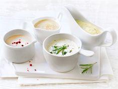 kastike lihapullille (in finnish) Sauce Recipes, Nom Nom, Soup, Tableware, Desserts, Dressings, Tailgate Desserts, Dinnerware, Deserts