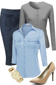 business professional outfits Cute Office Outfits, Stylish Work Outfits, Business Casual Outfits, Work Casual, Fall Outfits, Cute Outfits, Fashion Outfits, Sweater Outfits, Business Wear