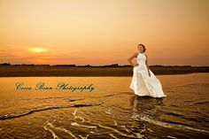 Trash the Dress - Beach style by Monica- Cocoa Bean Photography, via Flickr