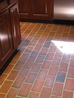 Kitchens - Inglenook Brick Tiles - thin brick flooring, brick pavers, ceramic brick tiles