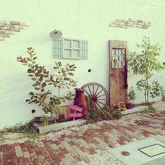 Mint Garden, Love Garden, Brick Garden, Garden Paths, Garden Images, Plant Decor, Garden Planning, Garden Inspiration, Indoor Plants
