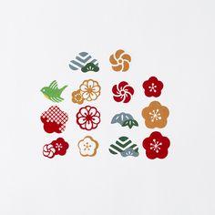Chinese Patterns, Japanese Patterns, Japanese Art, New Year Art, Japan Crafts, Japan Logo, Stamp Carving, New Year Designs, Fashion Logo Design