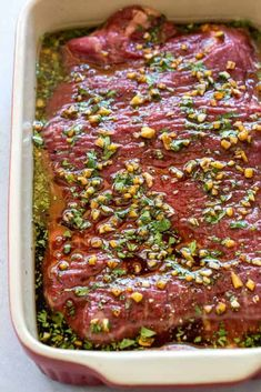 Marinated the flank steak for 5 hours. Served with limes and reserved sauce. Source by , Steak Marinade Asian Flank Steak, Beef Flank, Marinated Flank Steak, Flank Steak Recipes, Grilled Steak Recipes, Grilling Recipes, Meat Recipes, Cooking Recipes, Steak Marinade Recipes