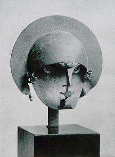 ein-bleistift-und-radiergummi: Pablo Gargallo 'Star' 1928.