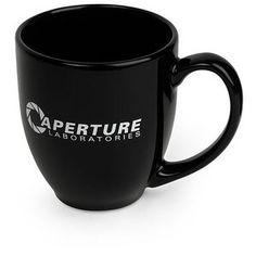 Aperture Science Mug, $14.99 from #ThinkGeek  #NerdStyle