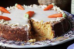 Almond Carrot Cake   Aargauer Rüeblitorte