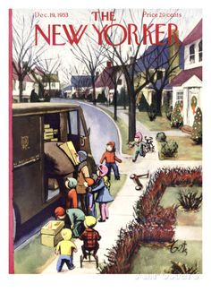 The New Yorker Cover - December 19, 1953