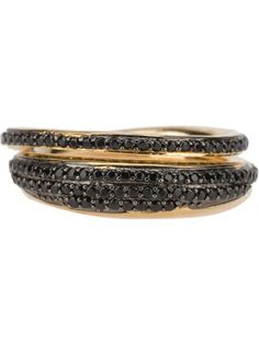 TOM BINNS - crystal embellished ring 4