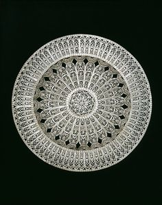 Salver, ca. Large silver platter of open imitation filigree, Cordova (Spain), Museum Number Quilling, Dish Display, Silver Platters, Wilton, Origami, Metal Forming, Silver Teapot, Victoria And Albert Museum, Silver Filigree