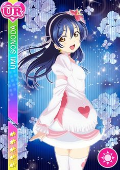 The Ultimate Resource For LoveLive! School Idol Festival players Browse & track your cards. Vote for the best girl. Love Live Nozomi, Umi Love Live, Anime Girl Cute, Kawaii Anime Girl, Anime Films, Anime Characters, Chibi, Live Picture, Manga Girl