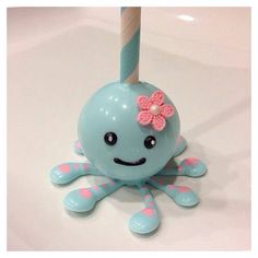 Octopus Cake Pop > Creative Edibles by CAKEPOPS  Yuki
